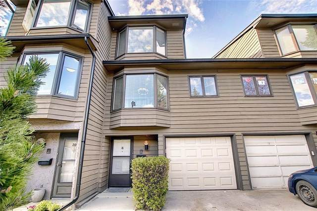 23 Glamis Drive SW #18, Calgary, AB T3E 6S5 (#C4293162) :: ESTATEVIEW (Real Estate & Property Management)