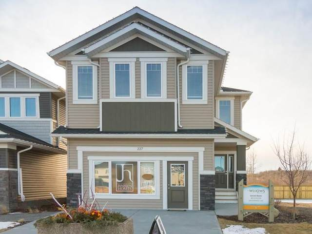 227 Willow Place, Cochrane, AB T4C 2S6 (#C4293350) :: Calgary Homefinders