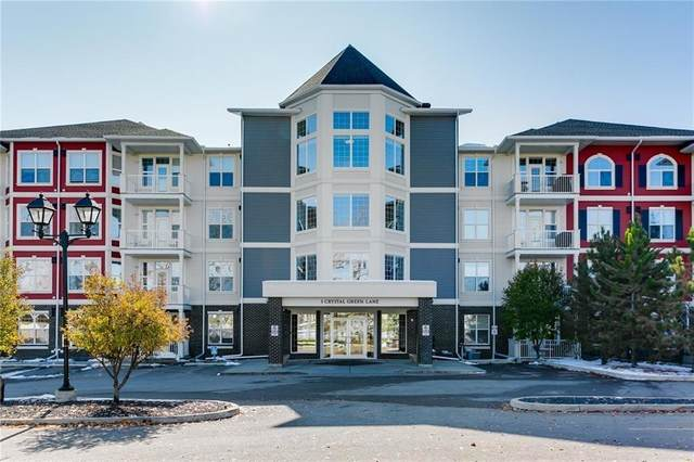 1 Crystal Green Lane #228, Okotoks, AB T1S 0C5 (#C4293611) :: Redline Real Estate Group Inc
