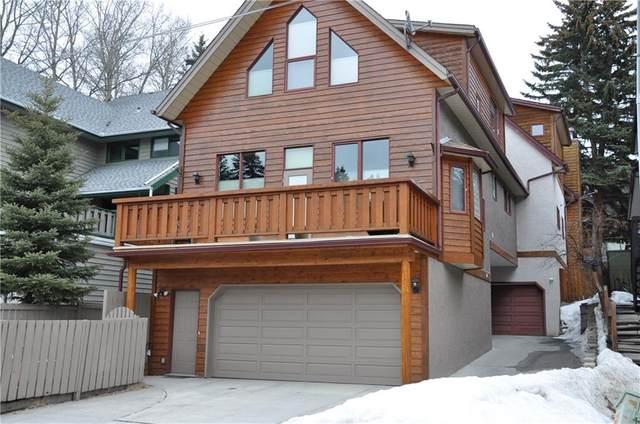 115 Otter Street A, Banff, AB T1L 1E3 (#C4293629) :: Canmore & Banff