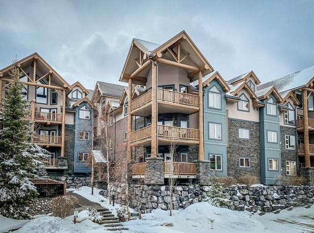 155 Crossbow Place #212, Canmore, AB T1W 3H6 (#C4293708) :: Canmore & Banff