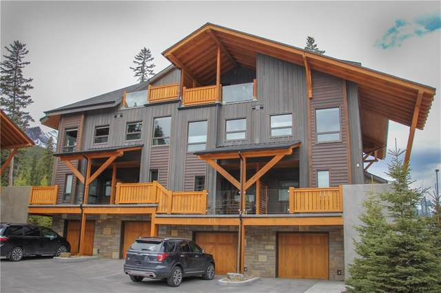 3000J Stewart Creek Drive #602, Canmore, AB T1W 0G5 (#C4294442) :: Canmore & Banff