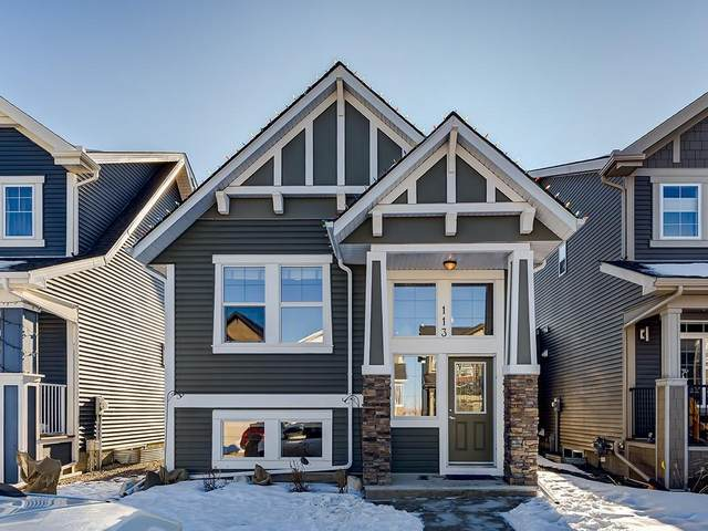 113 Fireside Place, Cochrane, AB T4C 0R4 (#C4295285) :: Redline Real Estate Group Inc
