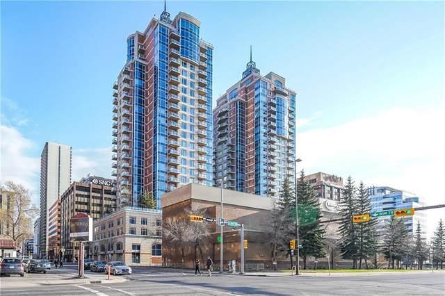 910 5 Avenue SW #2602, Calgary, AB T2P 0C3 (#C4295554) :: Calgary Homefinders