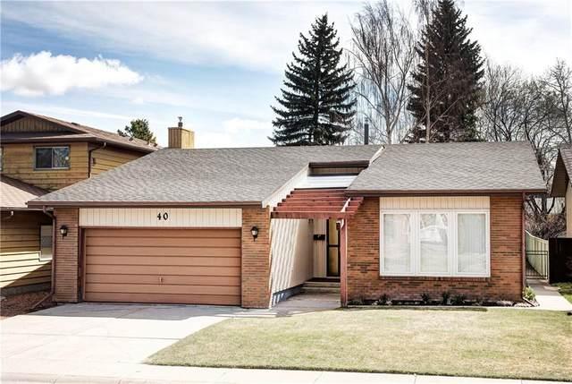 40 Deercross Road SE, Calgary, AB T2J 6C1 (#C4295560) :: The Cliff Stevenson Group