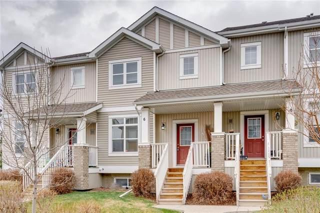 300 Evanscreek Court NW #6, Calgary, AB T3P 0B6 (#C4295771) :: Calgary Homefinders
