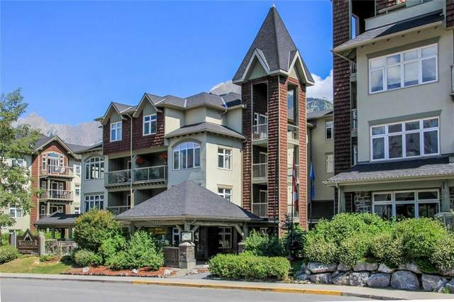 160 Kananaskis Way Road SW 278/279, Canmore, AB T1W 3E2 (#C4295900) :: Redline Real Estate Group Inc