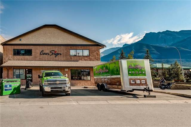 102 Bow Meadow Crescent Cansign - 1, Canmore, AB T1W 2W9 (#C4296040) :: Redline Real Estate Group Inc