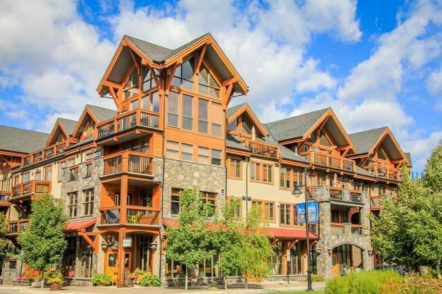 505 Spring Creek Drive #101, Canmore, AB T1W 0C5 (#C4296180) :: Canmore & Banff