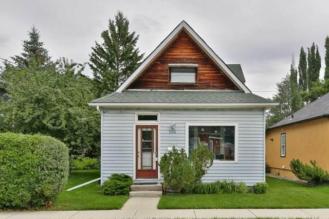 706 14A Street SE, Calgary, AB T2G 3K8 (#C4296356) :: Canmore & Banff