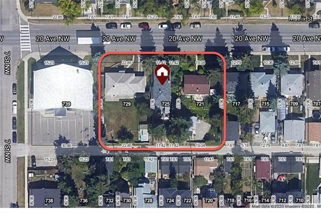 721, 725, 729 20 Avenue NW, Calgary, AB T2M 1E2 (#C4296411) :: The Cliff Stevenson Group