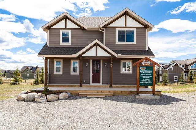 309 Cottageclub Link, Rural Rocky View County, AB T4C 0A2 (#C4296781) :: Calgary Homefinders