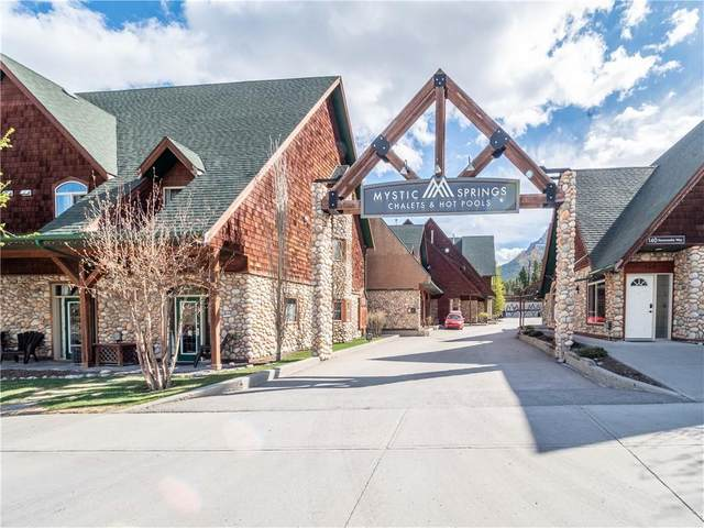 140 Kananaskis Way #119, Canmore, AB T1W 2X2 (#C4296873) :: Canmore & Banff