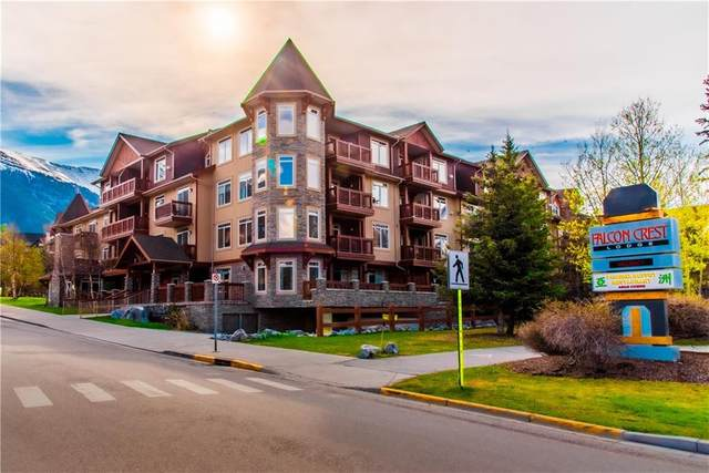 190 Kananaskis Way #103, Canmore, AB T1W 3K5 (#C4296891) :: Canmore & Banff