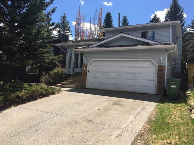 131 Stratton Crescent SW, Calgary, AB T3H 1T7 (#C4297453) :: Canmore & Banff