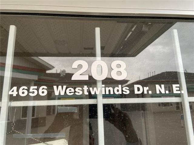 4656 Westwinds Drive NE #208, Calgary, AB T3J 3Z5 (#C4297461) :: Canmore & Banff