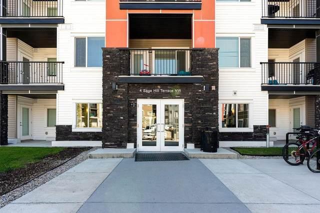 4 Sage Hill Terrace NW #205, Calgary, AB T3R 0W4 (#C4297516) :: Calgary Homefinders