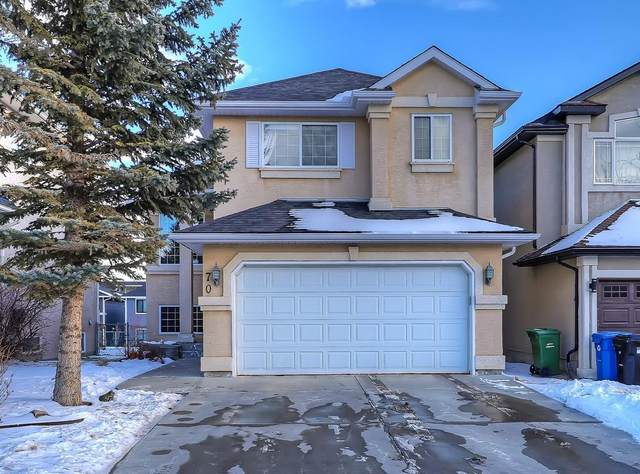 70 Harvest Grove Close NE, Calgary, AB T3K 4T7 (#C4297782) :: Canmore & Banff
