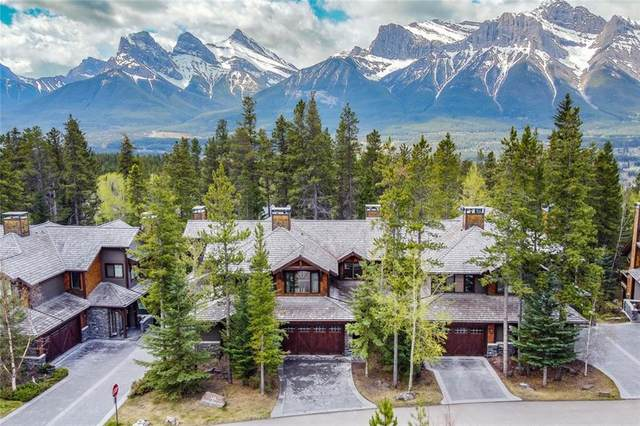 145 Stonecreek Road #2, Canmore, AB T1W 3A6 (#C4297988) :: Canmore & Banff