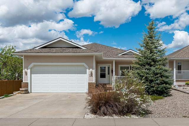 24 Skyline Crescent W, Claresholm, AB T0L 0T0 (#C4298028) :: Canmore & Banff