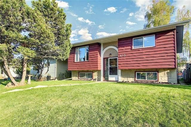 413 Huntley Way NE, Calgary, AB T2K 4Z7 (#C4299209) :: ESTATEVIEW (Real Estate & Property Management)