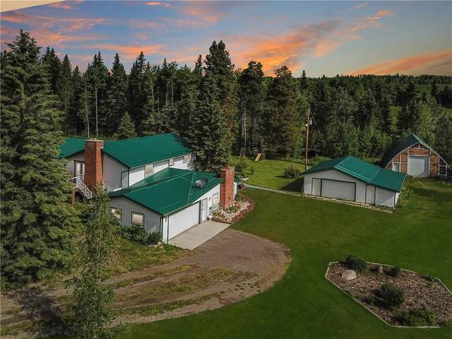 55076 Township Rd 344, Rural Clearwater County, AB T0M 1C0 (#C4299364) :: The Cliff Stevenson Group