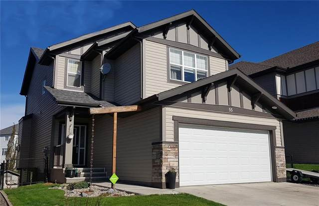 55 Sunset View, Cochrane, AB T4C 0G3 (#C4299553) :: Redline Real Estate Group Inc