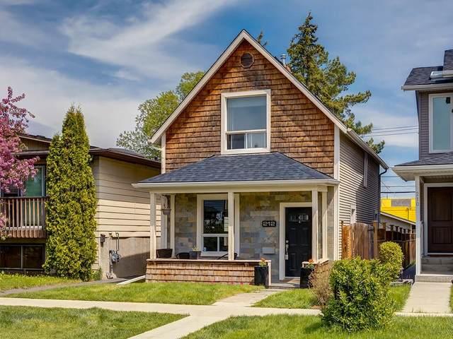 212 15 Street NW, Calgary, AB T2N 2A7 (#C4299605) :: Calgary Homefinders
