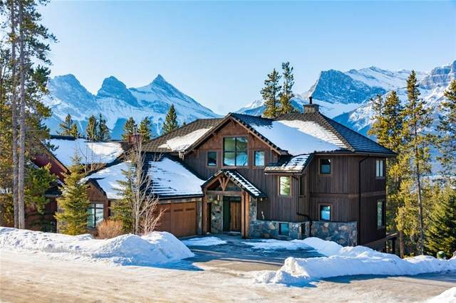 845 Silvertip Heights, Canmore, AB T1W 3K9 (#C4299792) :: Canmore & Banff