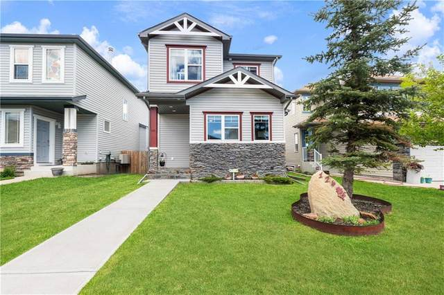 124 Covebrook Close NE, Calgary, AB T3K 6J5 (#C4300191) :: Calgary Homefinders