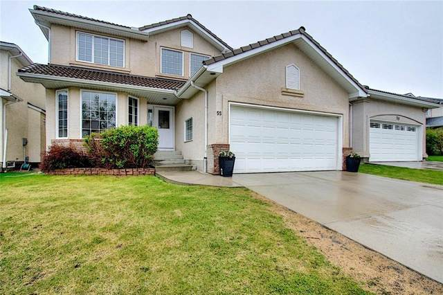 55 Hampstead Close NW, Calgary, AB T3A 5J3 (#C4300737) :: Calgary Homefinders