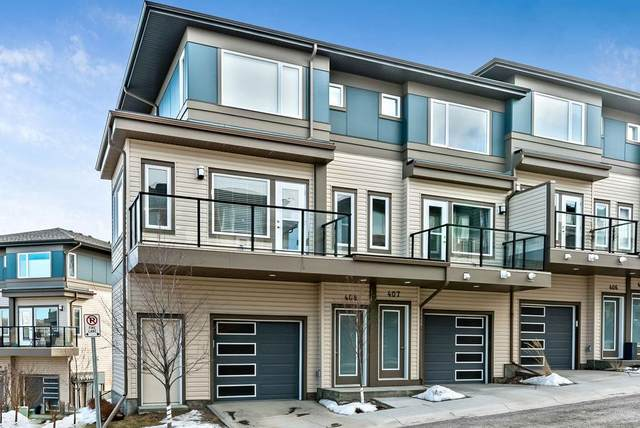 501 River Heights Drive #408, Cochrane, AB T4C 2L3 (#C4301000) :: Canmore & Banff