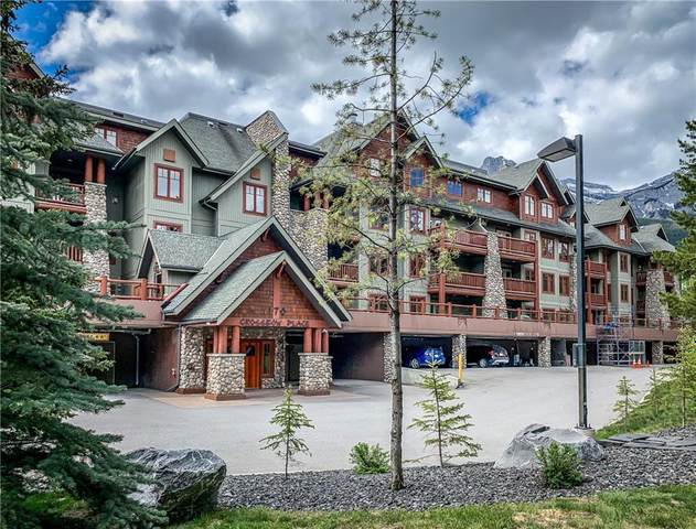 170 Crossbow Place #314, Canmore, AB T1W 3H4 (#C4301358) :: Canmore & Banff