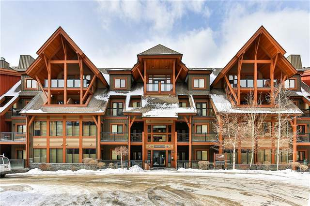 191 Kananaskis Way #201, Canmore, AB T1W 0A2 (#C4301435) :: Calgary Homefinders