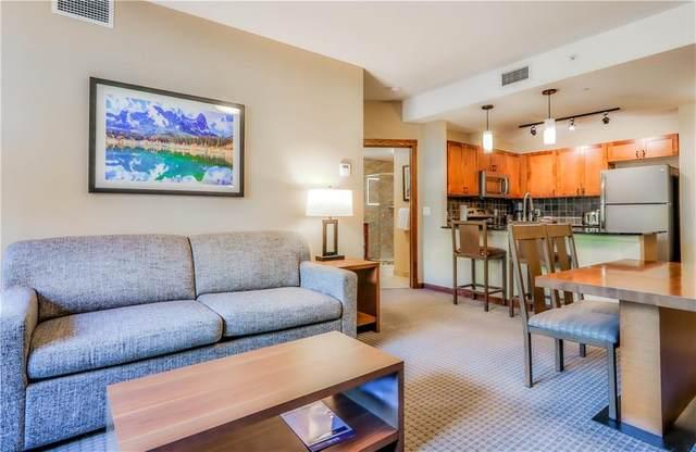 190 Kananaskis Way #106, Canmore, AB T1W 3K5 (#C4301551) :: Calgary Homefinders