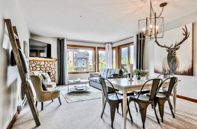 1120 Railway Avenue #204, Canmore, AB T1W 1P4 (#C4301581) :: Redline Real Estate Group Inc