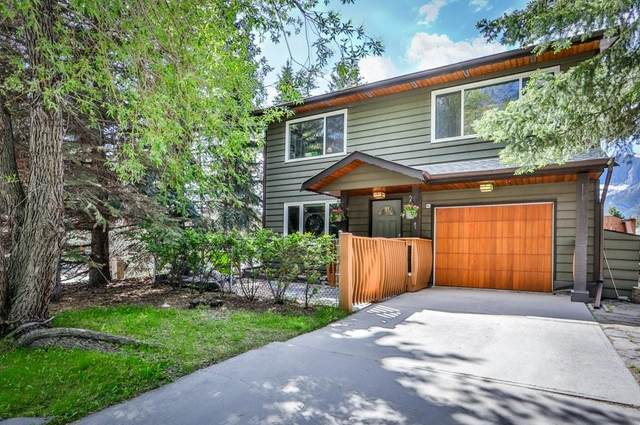 1 Pinewood Crescent, Canmore, AB T1W 1P4 (#C4301624) :: Redline Real Estate Group Inc