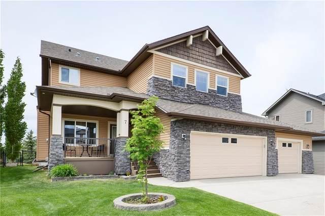 7 Boulder Creek Terrace S, Langdon, AB T0J 1X3 (#C4302056) :: Canmore & Banff