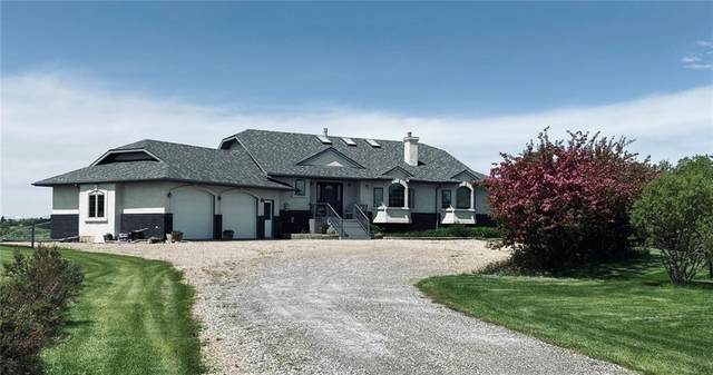 137 Bearspaw Hills Road, Rural Rocky View County, AB T3R 1B3 (#C4302372) :: Canmore & Banff