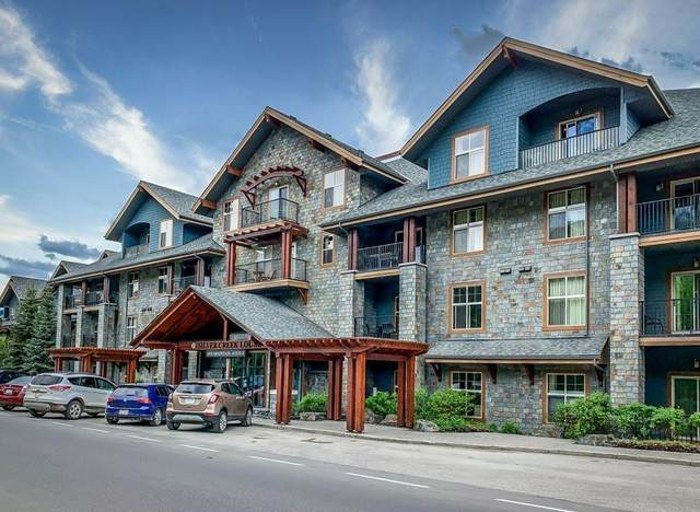 1818 Mountain Avenue #101, Canmore, AB T1W 3M3 (#C4302437) :: Calgary Homefinders