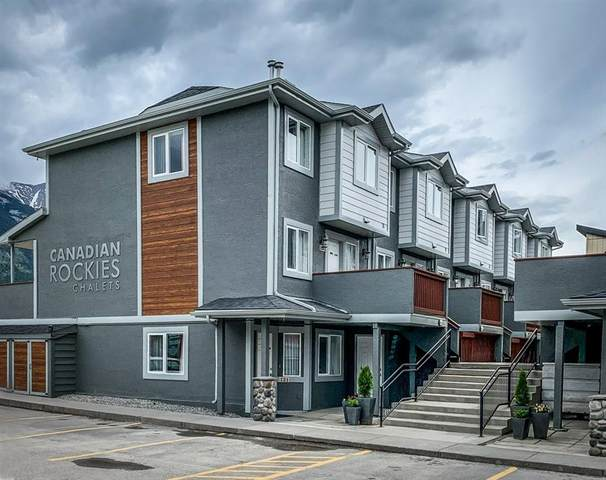 1206 Bow Valley Trail #130, Canmore, AB T1W 1N6 (#C4302448) :: Calgary Homefinders