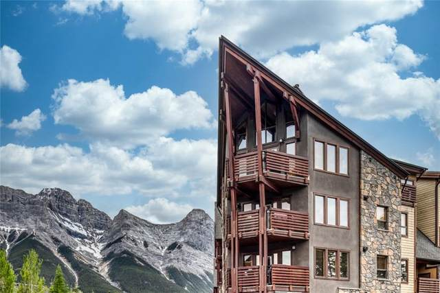 379 Spring Creek Drive #108, Canmore, AB T1W 0G8 (#C4302564) :: Canmore & Banff
