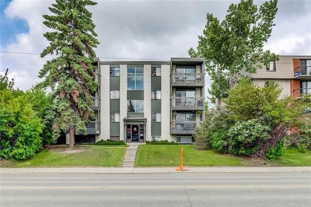 2734 17 Avenue SW #401, Calgary, AB  (#C4302840) :: Calgary Homefinders