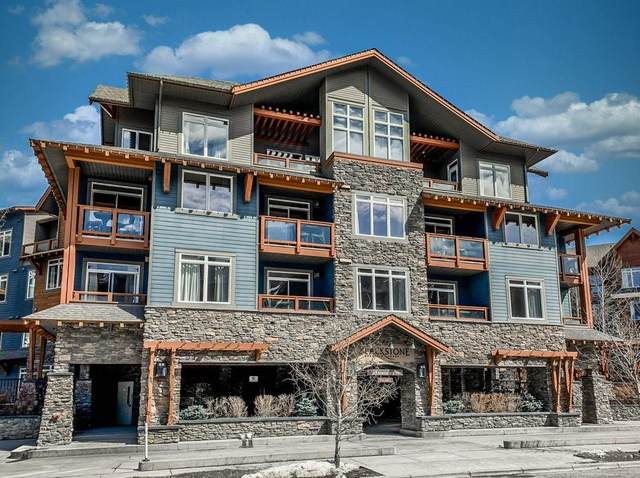 170 Kananaskis Way #317, Canmore, AB T1W 0A8 (#C4302920) :: Calgary Homefinders