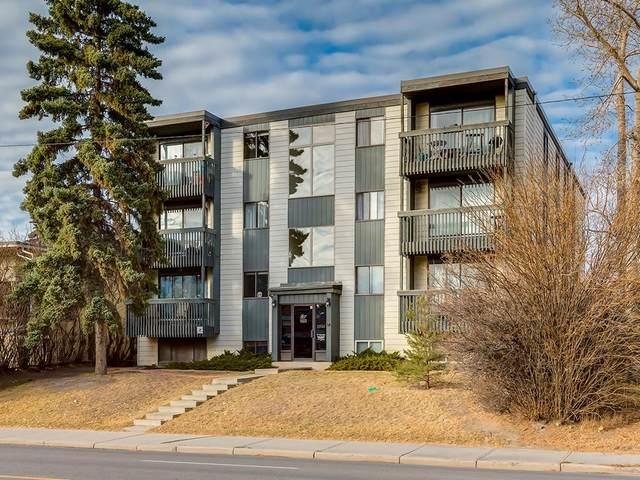 2734 17 Avenue SW #402, Calgary, AB T2Y 3H6 (#C4302929) :: Calgary Homefinders