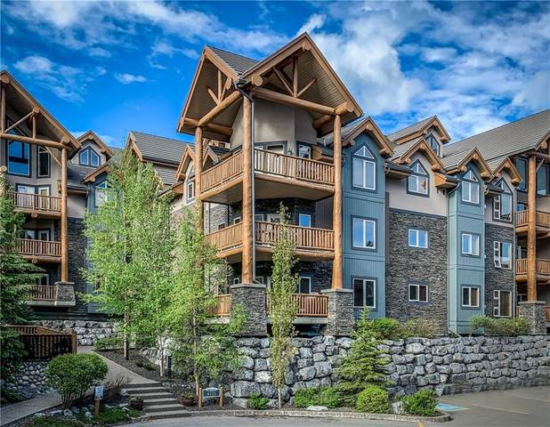 155 Crossbow Place #219, Canmore, AB T1W 3H6 (#C4303272) :: Canmore & Banff