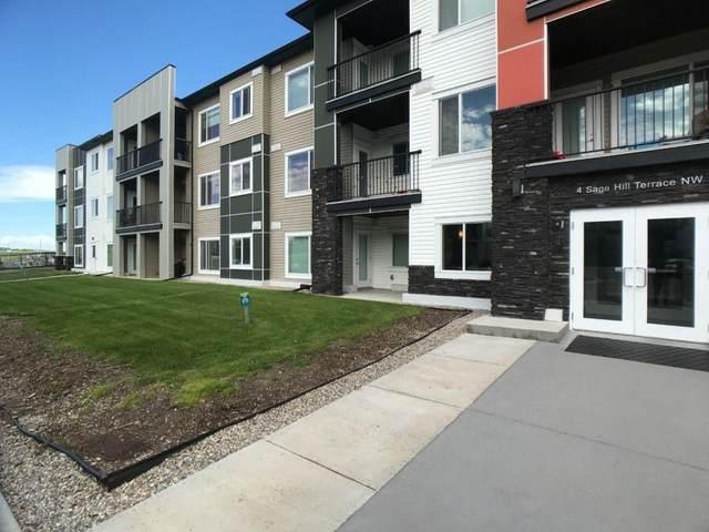 4 Sage Hill Terrace NW #308, Calgary, AB T3R 0W4 (#C4303351) :: Calgary Homefinders