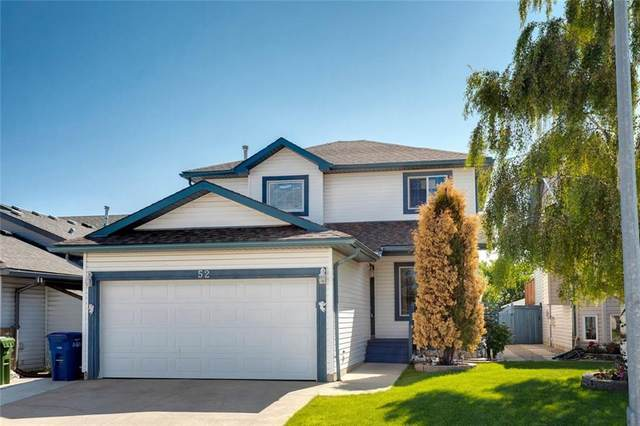 52 Woodside Crescent NW, Airdrie, AB T4B 2K2 (#C4303500) :: The Cliff Stevenson Group