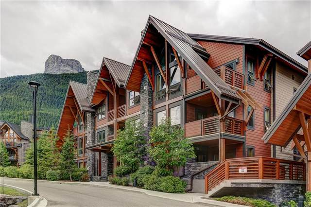 2100a Stewart Creek Drive #203, Canmore, AB T1W 0G3 (#C4304790) :: Canmore & Banff