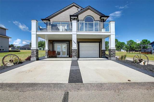 139 White Pelican Way, Rural Vulcan County, AB T0L 1B0 (#C4304853) :: Canmore & Banff